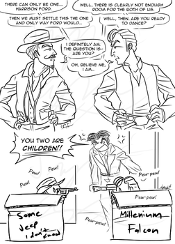 Indy vs Han, clearly. by ImagenAshyun