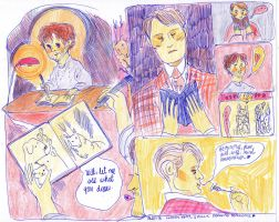 Drawing Sessions With Hannibal Fix by rompopita