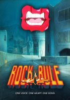 Rock And Rule Poster 1 by bloogun