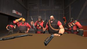 [SFM] Which shotgun is ours? by Jarg1994