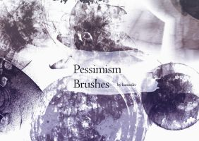 Pessimism Brushes by kanonliv
