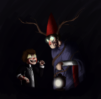 Bipper and Wirt Beast-speedpaint by Maimed-Bunny