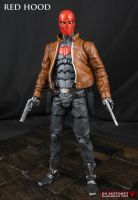 Red Hood custom action figure by Jin-Saotome