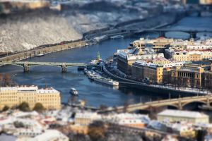 Prague tilt shift 1 by hombre-cz