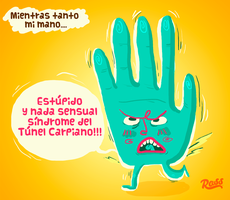 Mientras tanto mi mano by ross-marisin