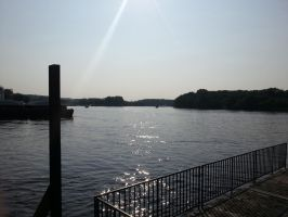 Summer Days on the Mississippi. by simpspin