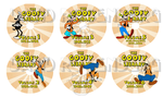 The Goofy Library-Disk Labels (watermark) by Gonzocartooncompany