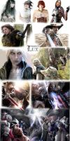 Project lux y  project Crossover by CharlieRomeo