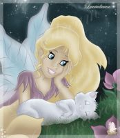 Little fairy 2 by Laurine-Tellier