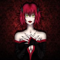 Poison in my eyes by Wily-Flame