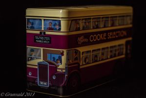 The Cookie Double Decker Bus by Grunvald