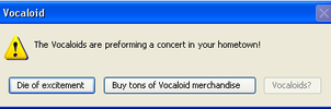 Vocaloids Error Message by Yaoi0Yuri0rules