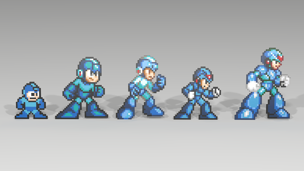 March of the Mega Man by mithrylaltaire