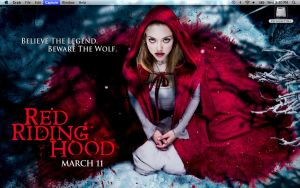 Red Riding Hood Desktop by Morgaine-le-Fay