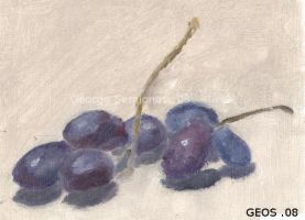 Grapes by geors