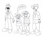 9 Crossover Gravity Falls by QueenStorm