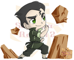 Bolin the Chibi Earthbender by Sakura-Rose12