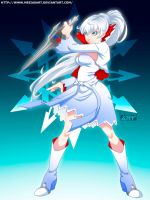 RWBY - Weiss Schnee by mesiasart