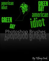 Green Day Brush Set by tiffanycook