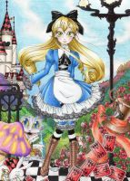 Alice world by Emerald-Cat