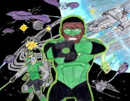 Green Lantern, Halo, Stargate by Tikaaniwicker4