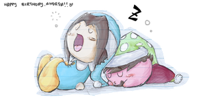sleepy kirby grumps by coolgaltw