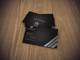 Destruction Business card 03 by Lemongraphic