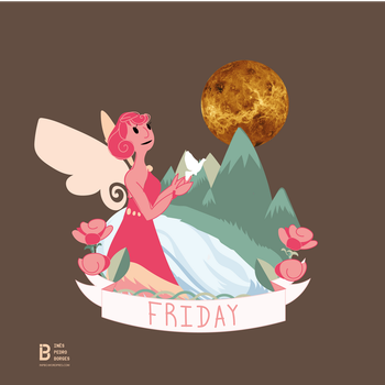 Days of the Week - FRIDAY by InPBo