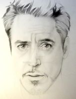Robert Downey Jr (WIP) by Synosurai