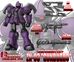 ZN-03-HM ''GUNBURRO'' High Mobility Type by Ishida1694