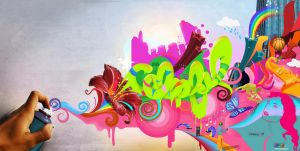 "Colorful "" by MYA-B-DJ"