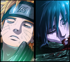 NARUTO 662 - THE FALL by Piepzz
