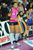 Valentina Diouf serve by lowerrider