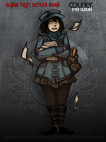 HP: shsl courier by corviday