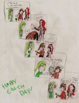 Lloyd messes up Earth Day by accidentprone392