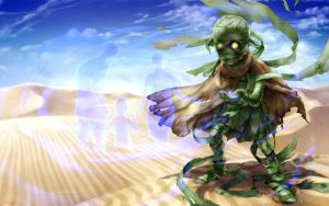 Amumu in the Sand by stupjam