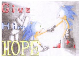 GIFT Give Him HOPE by Dogwhitesector