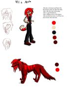 Inis Mona Ref Sheet  by D0omy