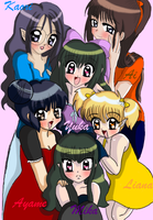 Tokyo Crystal Mew Group by Eleanor-Devil