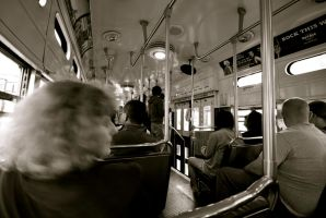 A day in a bus' life II by dantordjman