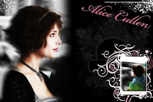 Alice Cullen Wallpaper by KristenElise