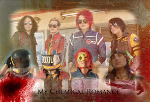 MCR wallpaper by pearlandfrog13
