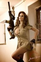 Chicks with Guns by misterd1948