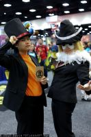 Puzzle Duo at Comic-Con 2012 by KatyMerry