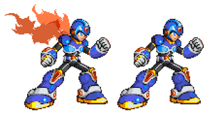 Command Mission Megaman X MvC by Xeon-Licrate