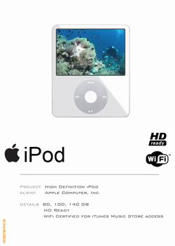 iPod HD Concept by charlestb