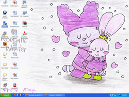 My desktop-Chowder n Panini by murumokirby360