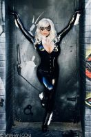 Black Cat in the Alley by yayacosplay