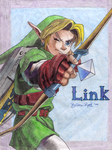 Link from Ocarina of Time by I-am-Britta