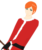 sister Claus: Nick Claus by art-is-my-bream